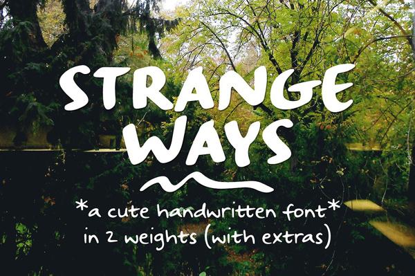 Strangeways Free Font
