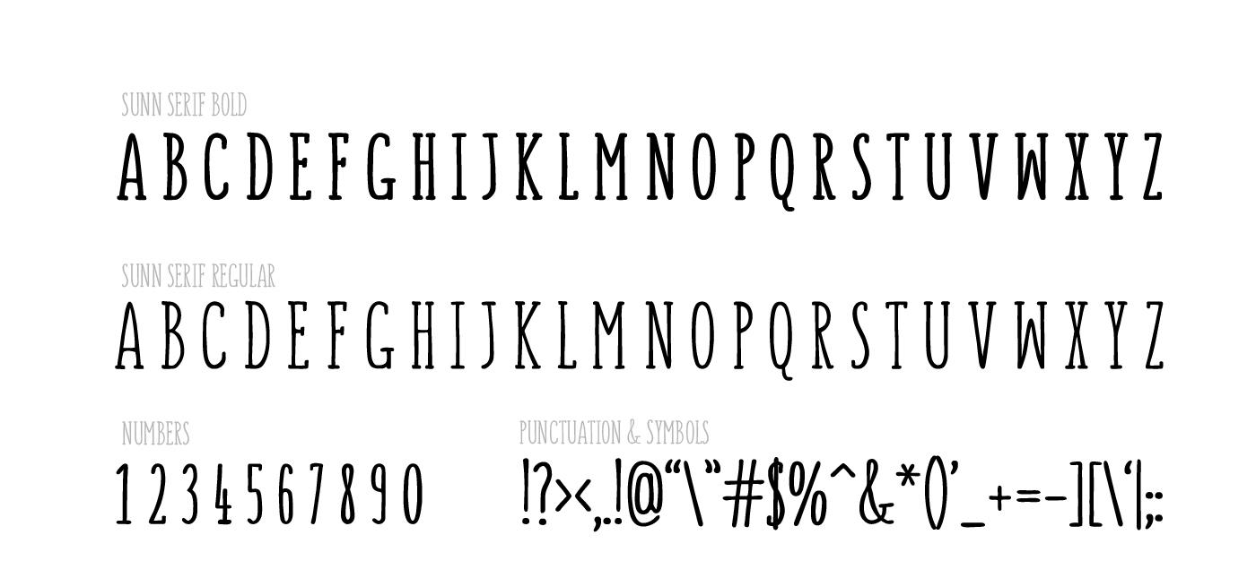 Sunn Serif Font