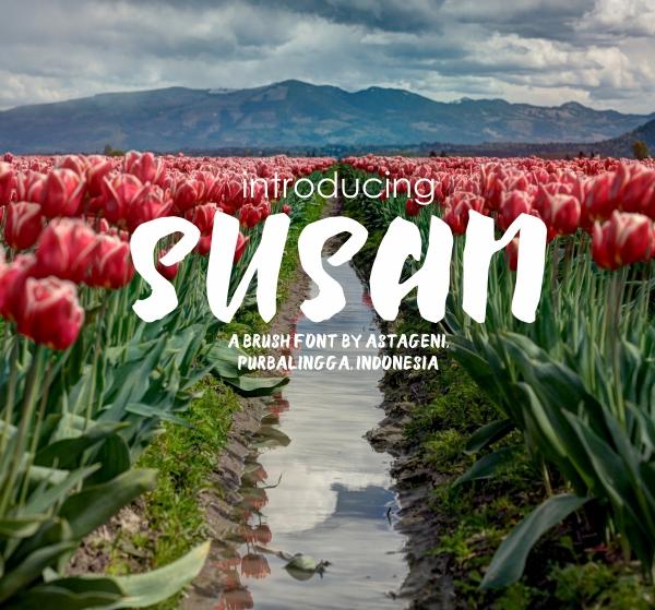 Susan Free Font