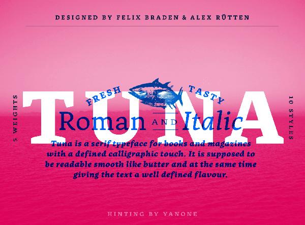 Tuna Free Font