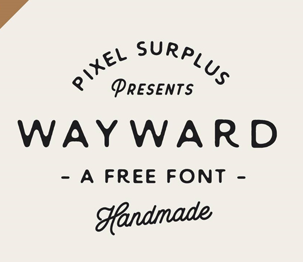 50 Best Free Fonts For 2017 - 17