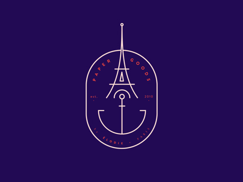45 Best Line Art Logo Designs for Inspiration - 36