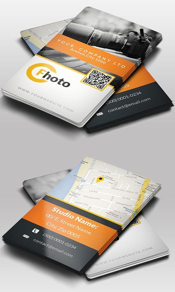 Photographer Business Card Deaign