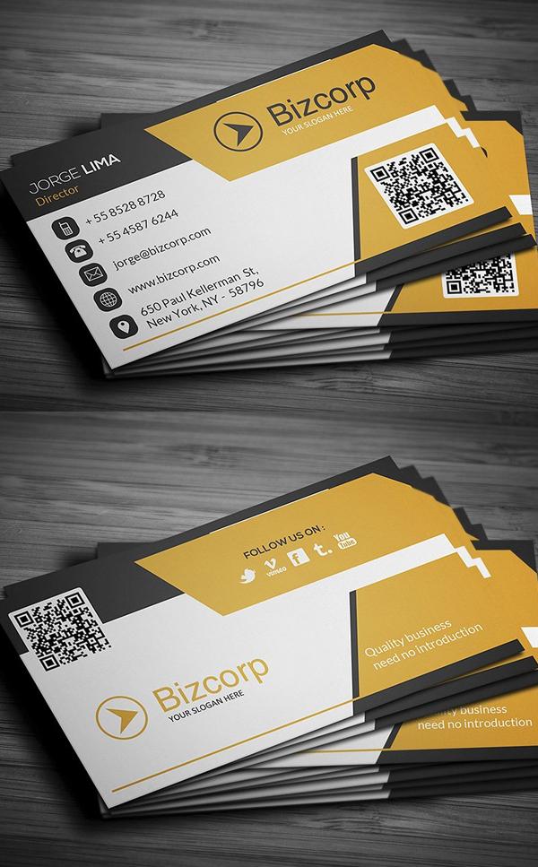 Free Modern Business Card Templates