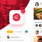Edacious: Free food UI kit for web & apps