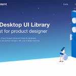 Element: A desktop component UI library