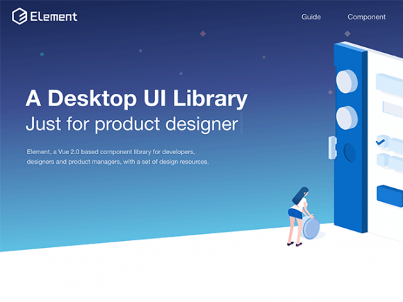 Element: A desktop component UI library
