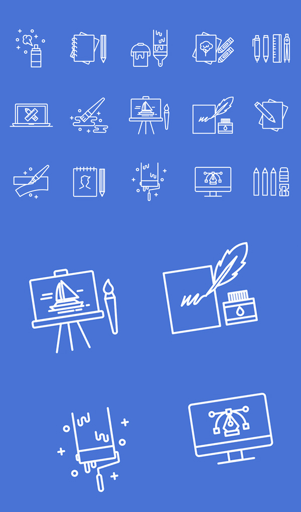 Free Art & Design Icons
