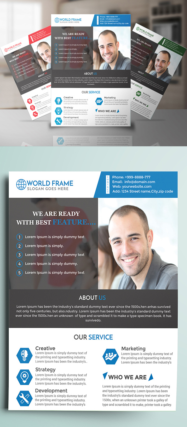 Free Creative Premium Business Flyer