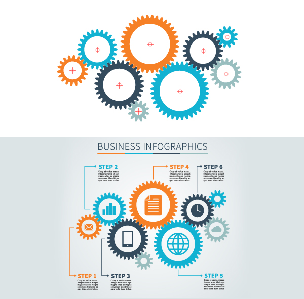 How to create Gear Infographics using VectorScribe and Adobe Illustrator