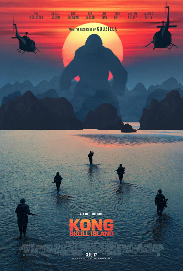 Image result for kong skull island movie poster