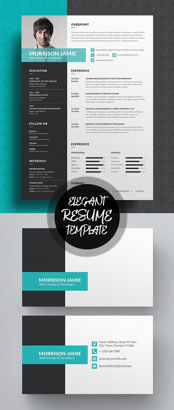 Elegant Resume/CV Template