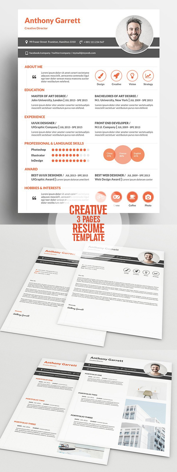 Creative Simple Resume Template