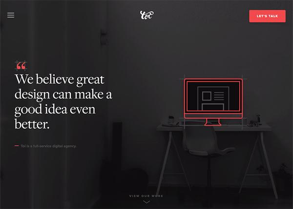 Web Design Agencies Websites: 26 Creative Web Examples - 15