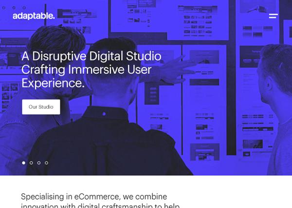 Web Design Agencies Websites: 26 Creative Web Examples - 5