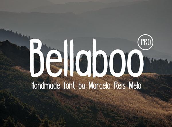 Bellaboo PRO Free Font