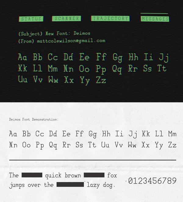 Deimos Free Font