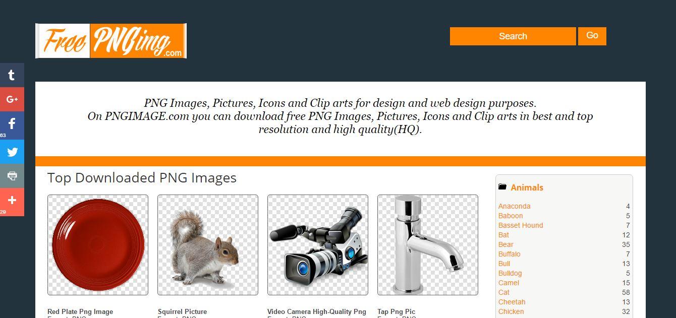 Transparent PNG images