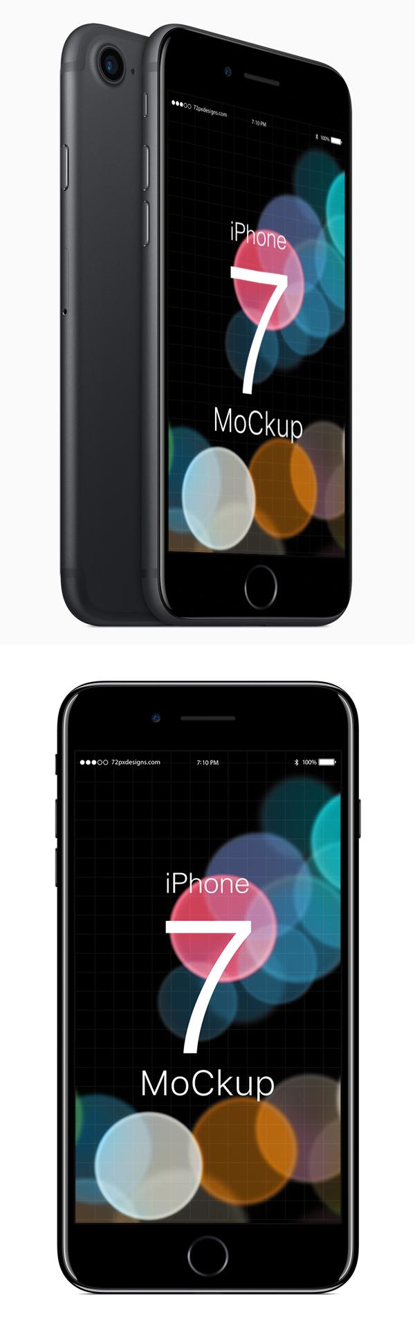 Free iPhone 7 Mockup PSD