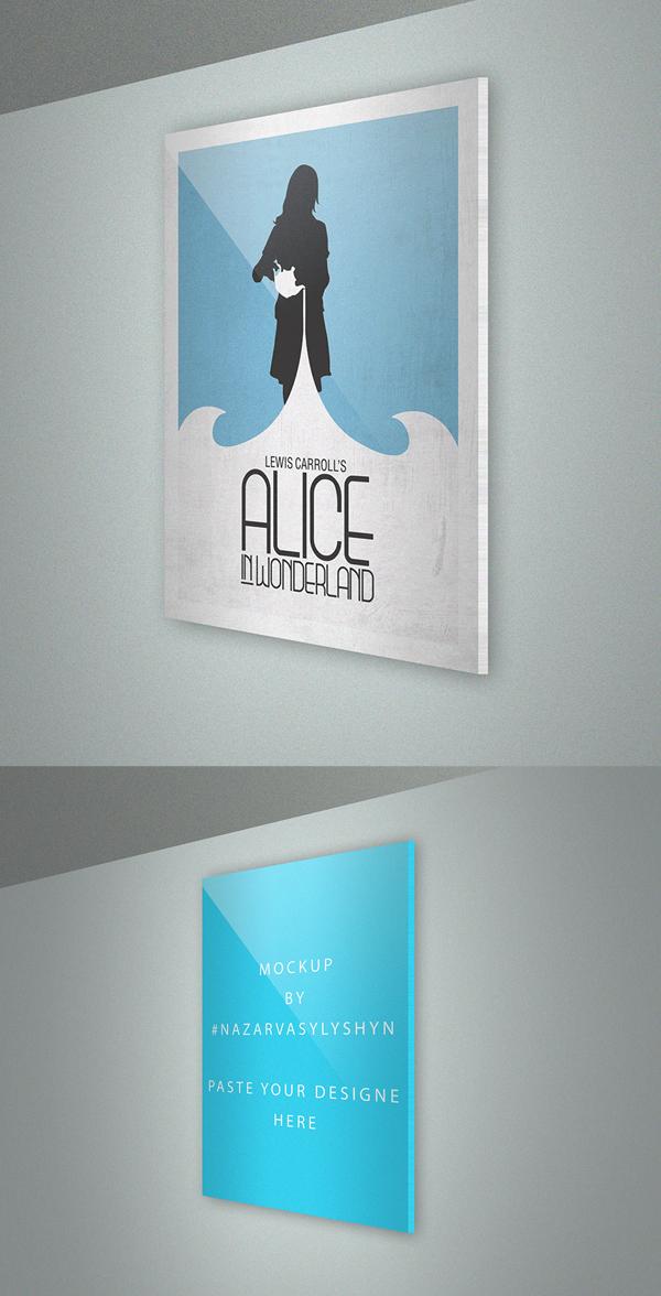 Poster mockup templates