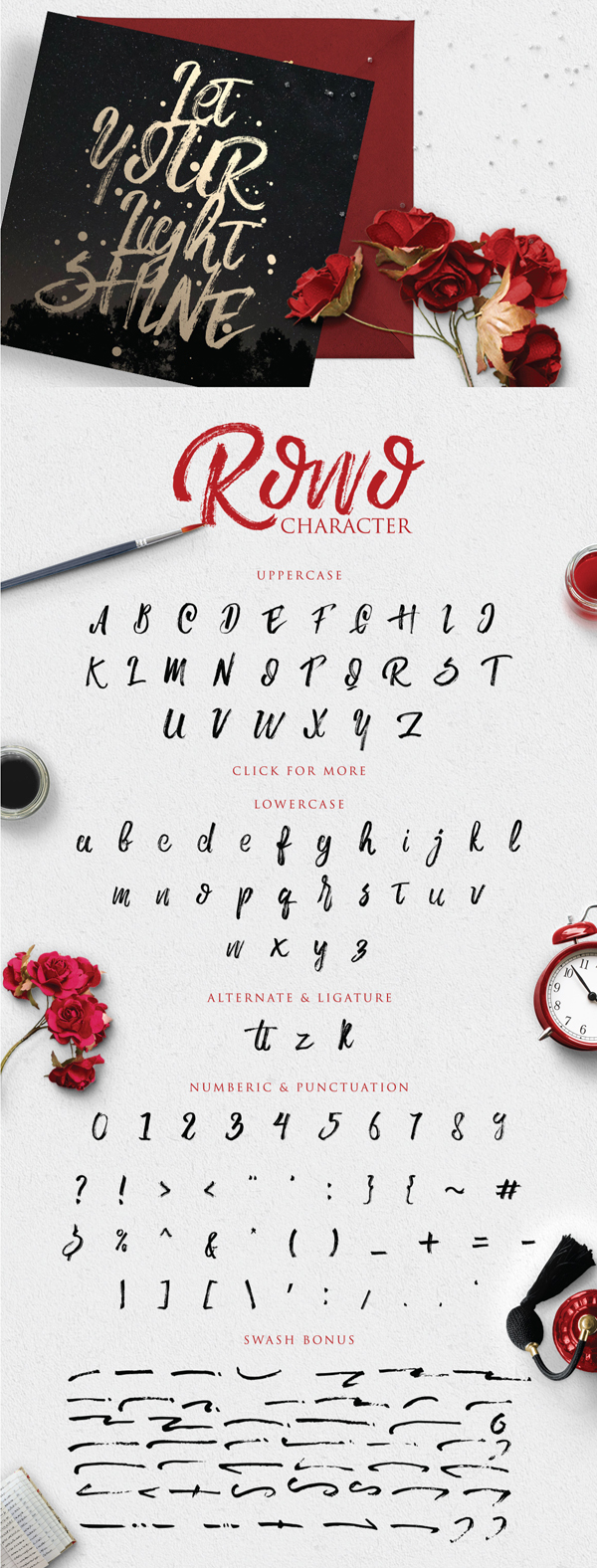 Rowo Free letters