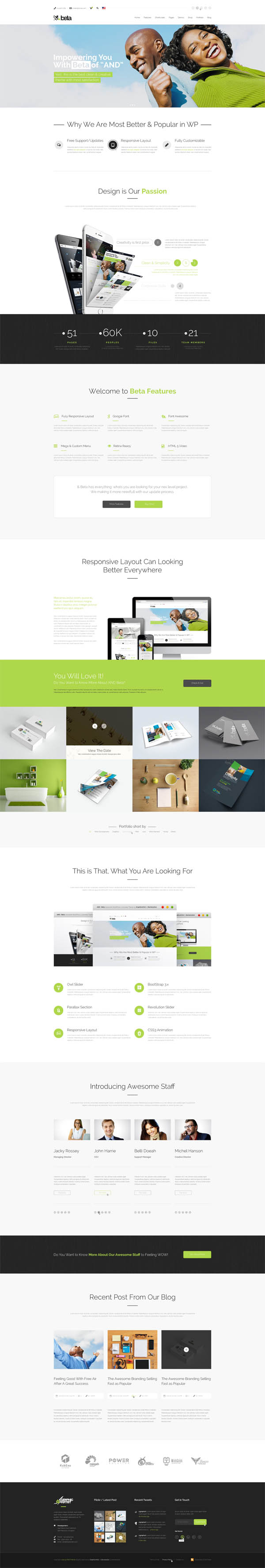TheAnd | Responsive Multipurpose WP Theme