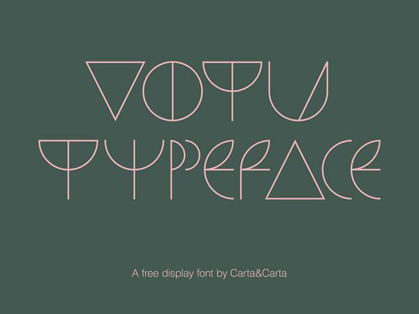 Votu Free Font