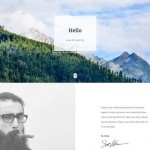Bodo: A free HTML Personal / Portfolio template