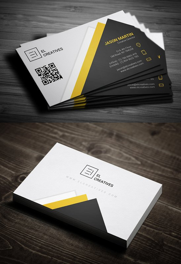 Clean Creative Business Card