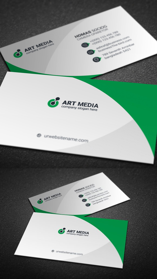 Free Business Card Templates Design Your Business Card - oukas.info