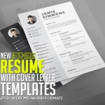 21 Fresh Free Resume Templates with Cover Letter