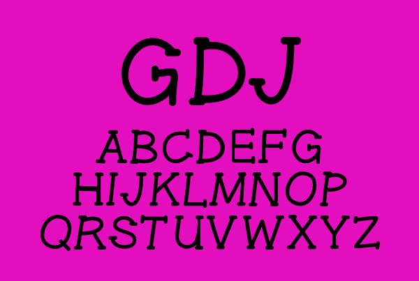Gel Pen Serif Free Font