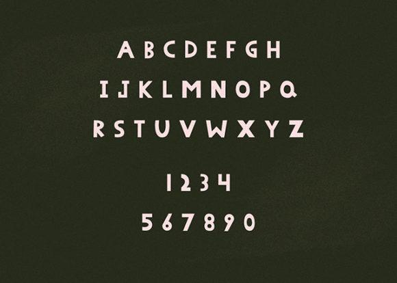 Peenu font preview 01