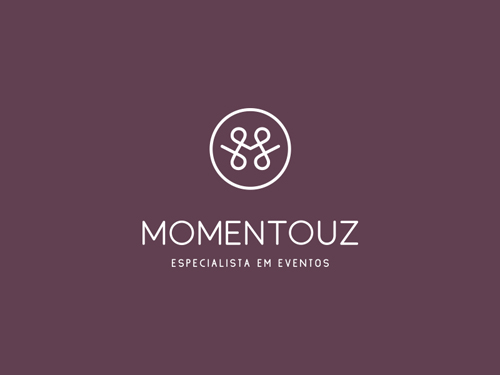 Momentouz, Logo Design, Event Planner by Andrea Pinter