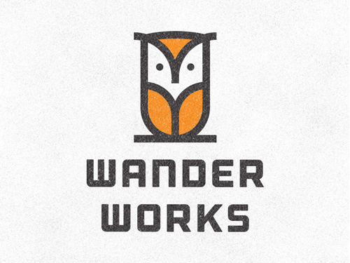 Wander Works Logo Concept by Devin Thomas