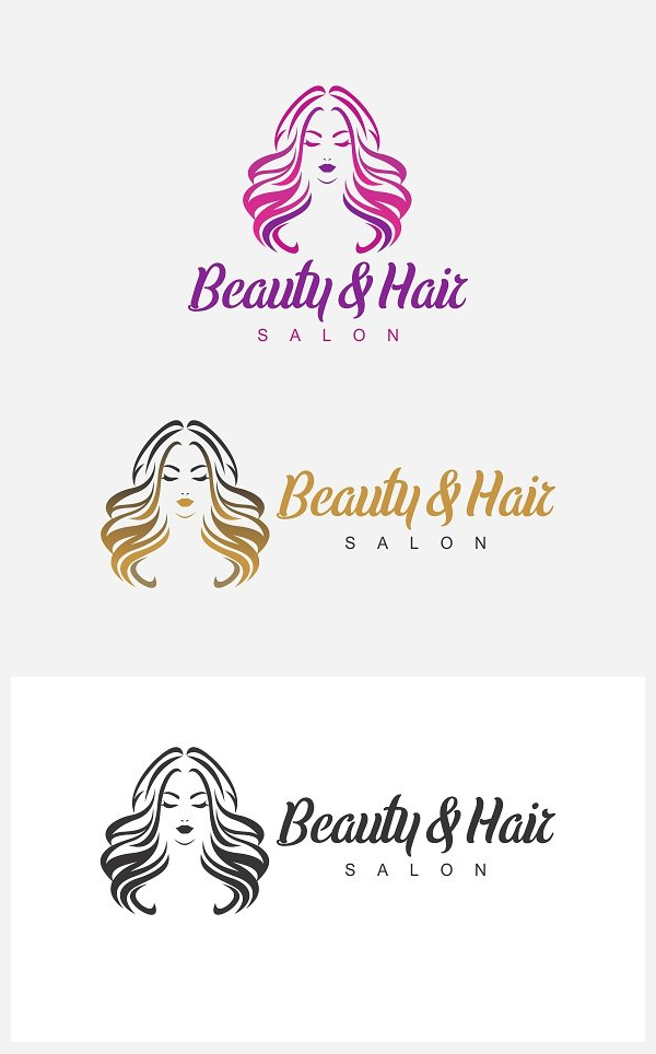 Salon Logo Template