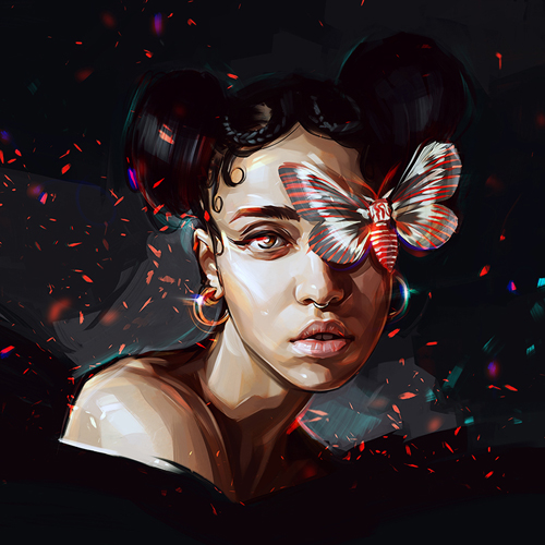 FKA Twigs Portrait