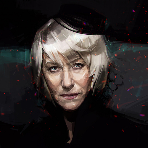 Helen Mirren Portrait