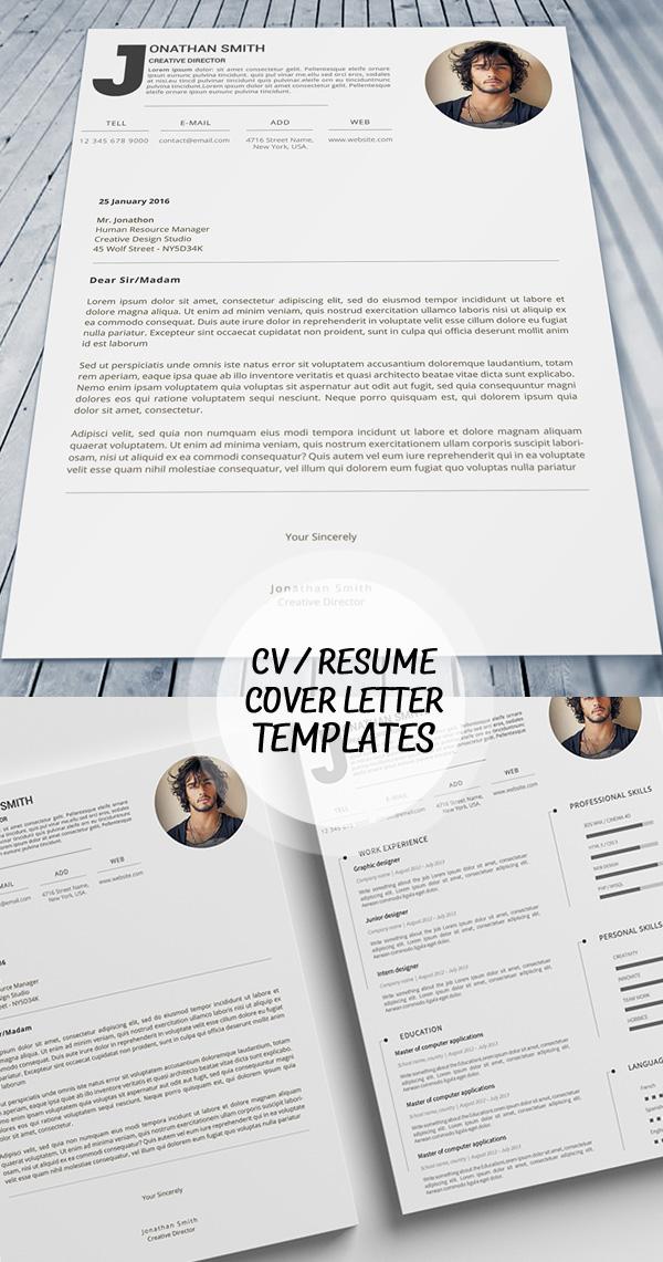 50 Best Minimal Resume Templates - 29