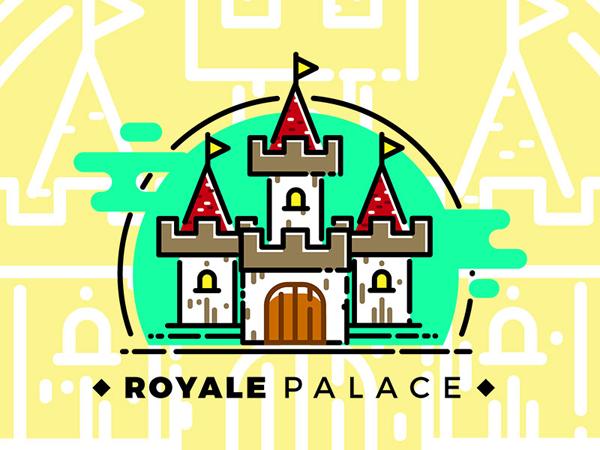 Free Palace Logo Template
