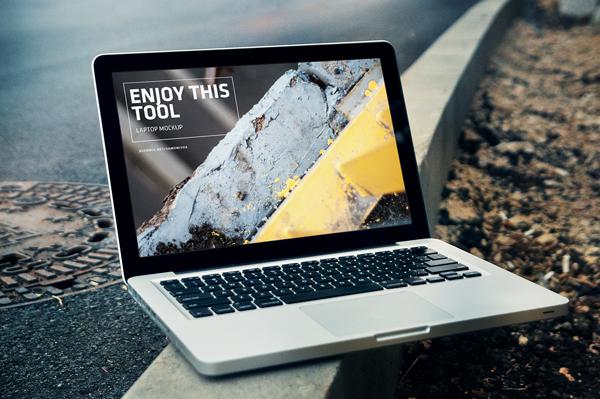 Free Mockups iPhone + iPad + Macbook Pro