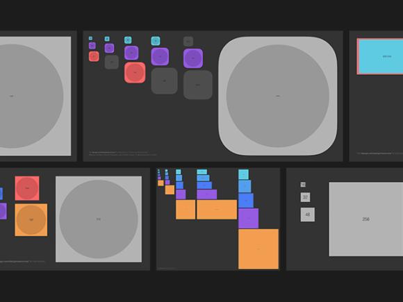 Bjango: A complete set of app icon templates