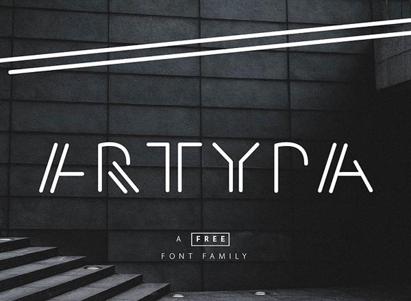 Artypa Free Font