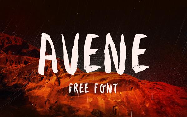 Avene Free Font