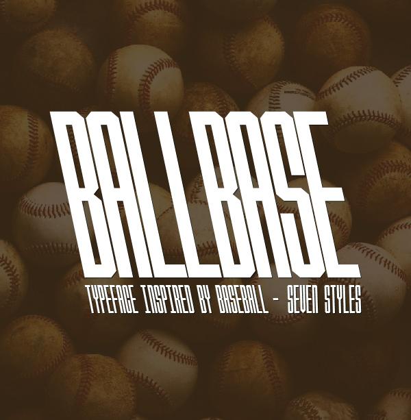 Ballbase Free Font
