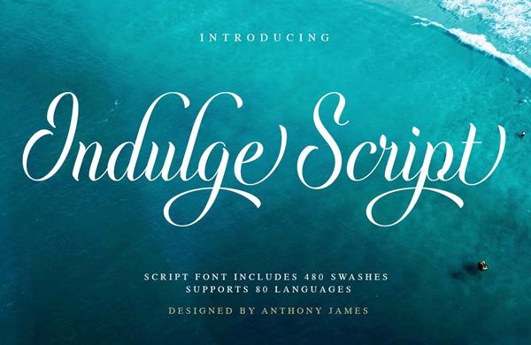 Indulge Script Free Font