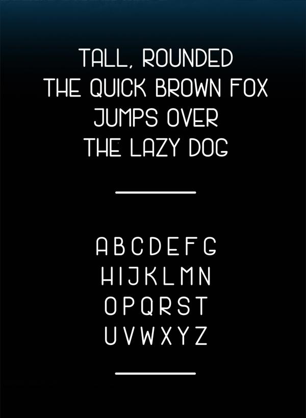 Jack Lane Free Font Letters