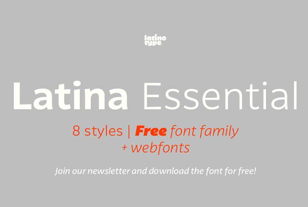 Latina Essential Free Font