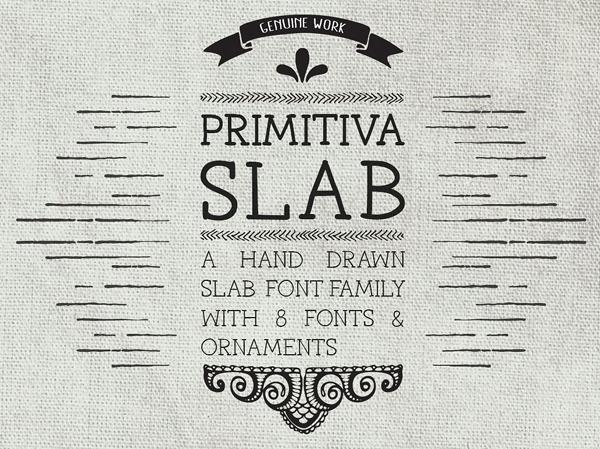 Primitiva Slab Free Font