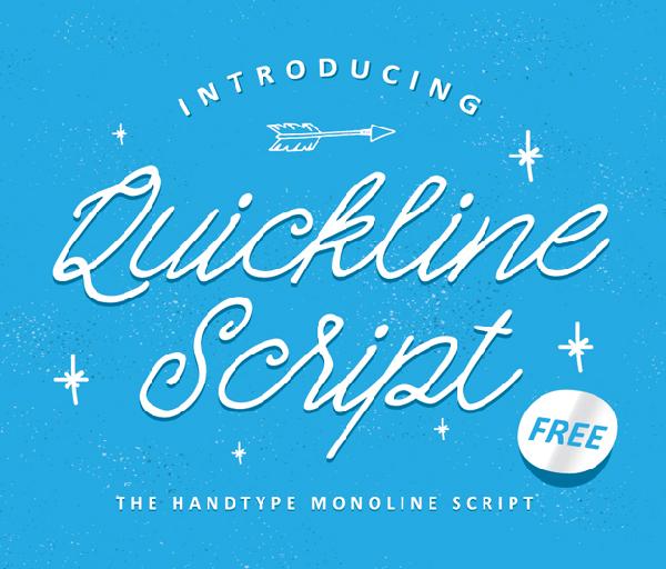 Quickline Free Font